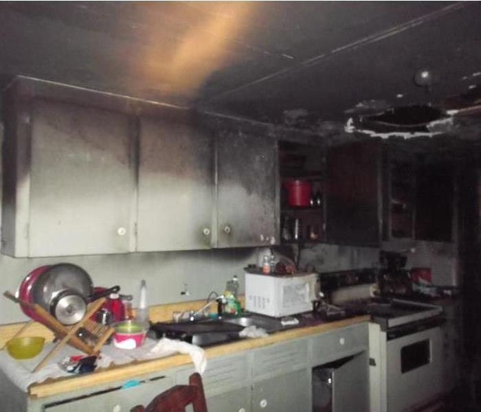 Flash Fire in Pinellas Park Kitchen Before