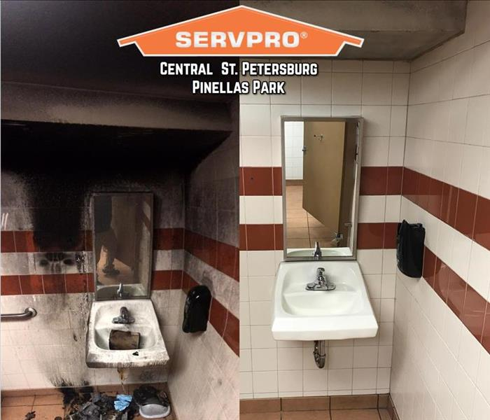 Fire Damage Call SERVPRO After Fire Damage in St. Pete